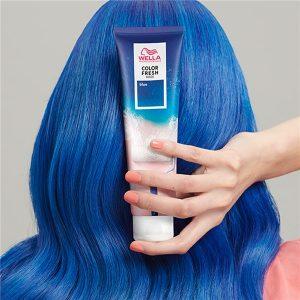 Color fresh mask : Blue